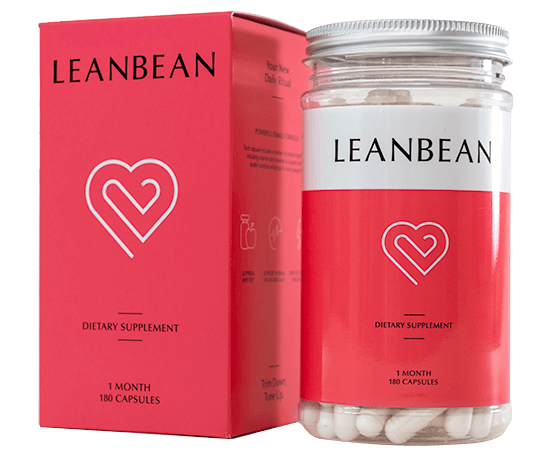 A bottle of Leanbean with the box