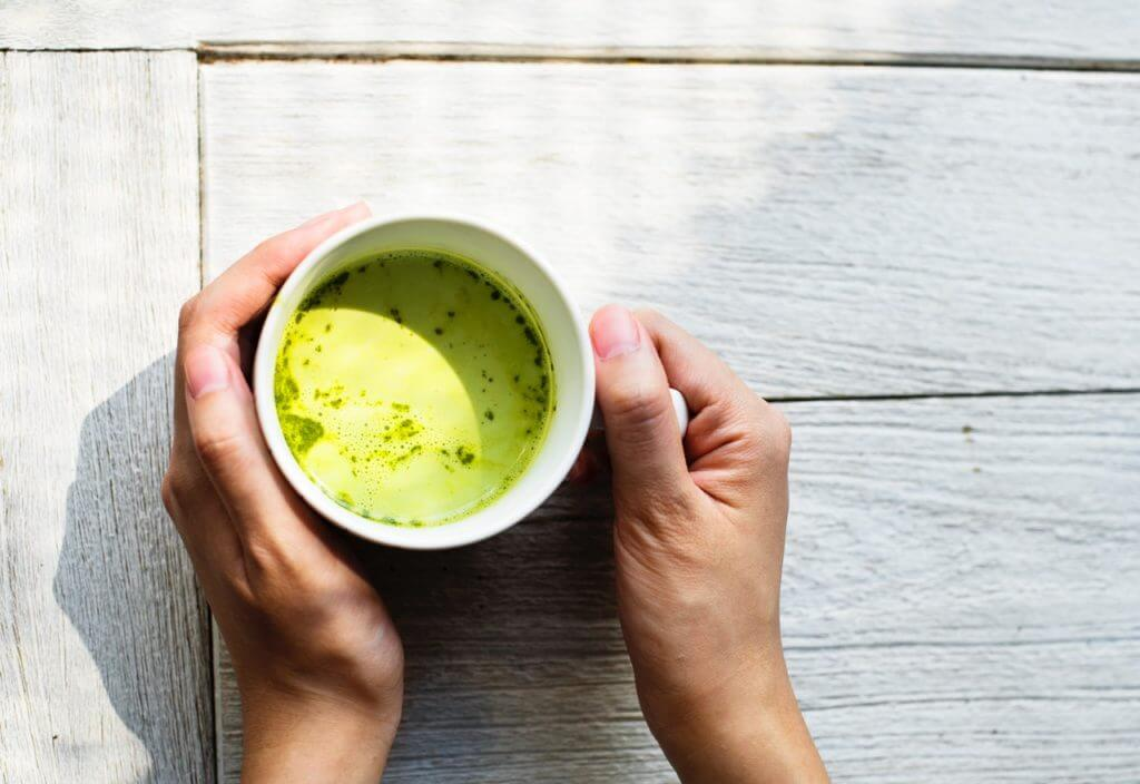 Supplements for increased fat burning - green tea