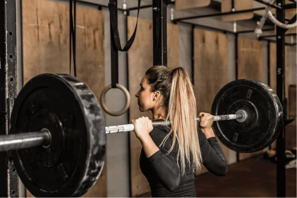 They lift weights to burn fat, not to get bulky