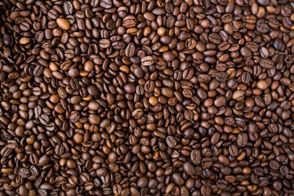 Coffee beans are a natural thermogenic